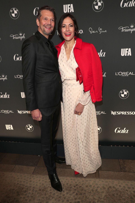 Kai Wiesinger kommt mit seiner Partnerin Bettina Zimmermann zur legendären Opening Night.