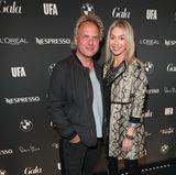 Uwe Ochsenknecht kommt mit seiner Freundin Kirsten Vierbrock zur Opening Night.