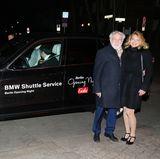 Mit dem BMW-Shuttle-Service der Kälte in Berlin trotzen, das nutzen auch Dieter Hallervorden undChristiane Zander.