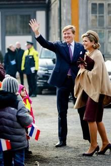 10. Februar 2017  Der letzte Tag beginnt für das Königspaar in Sachsen-Anhalt am Schloss Oranienbaum bei Dessau.