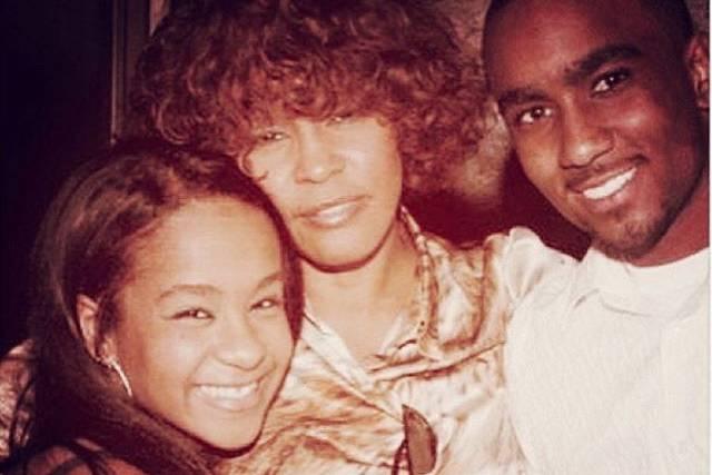 Bobbi Kristina Brown, Whitney Houston, Nick Gordon