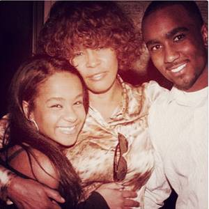 Bobbi Kristina Brown, Whitney Houston, Nick Gordon
