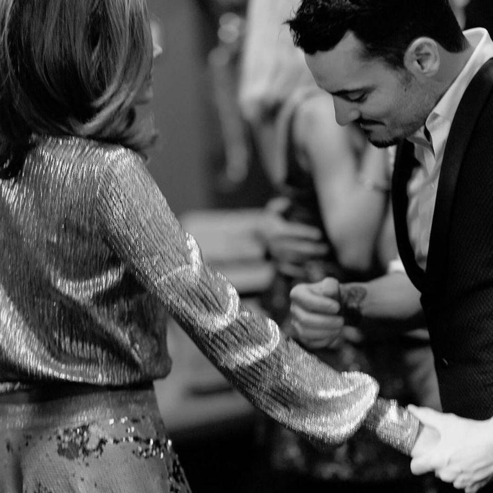 """Jana Ina Zarrella teilte dieses romantische Foto von ihr und Giovanni. Dazu postete sie: """"Happy Valentine, mein Schatz! Deine Liebe ist mein größtes Geschenk!""""."""