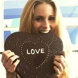 Michelle Hunziker sendet schokoladige Liebesgrüße an ihre Fans.