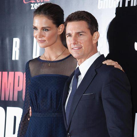 Katie Holmes + Tom Cruise
