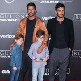 Ricky Martin ist 2008 mit Hilfe einer Leihmutter Vater von Zwillingen geworden.