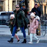 Kein seltenes Bild in New York: Sarah Jessica Parker unterwegs mit ihren Zwillingstöchtern.