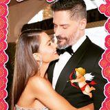 Amors Pfeil hat sie mitten ins Herz getroffen: Mit dieser Collage zeigt Sofía Vergara, wie verliebt sie in ihren Ehemann Joe Manganiello ist.