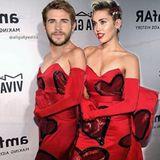 Miley Cyrus postet eine witzige Collage mit Liam Hemsworth.