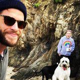 Auch Liam Hemsworth und seine Miley Cyrus lassen es sich nicht nehmen ebenfalls zum Valentinstag zu grüßen.