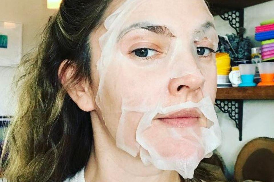 Der Mumienlook bei Drew Barrymore