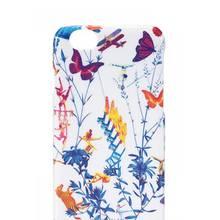 """Handyhülle """"Mix Landscape"""""""" für iPhone 6 und 6S mit Akrobaten und Blumen. Shanghai Tang, ca. 60 Euro, bethge-hamburg.de"""