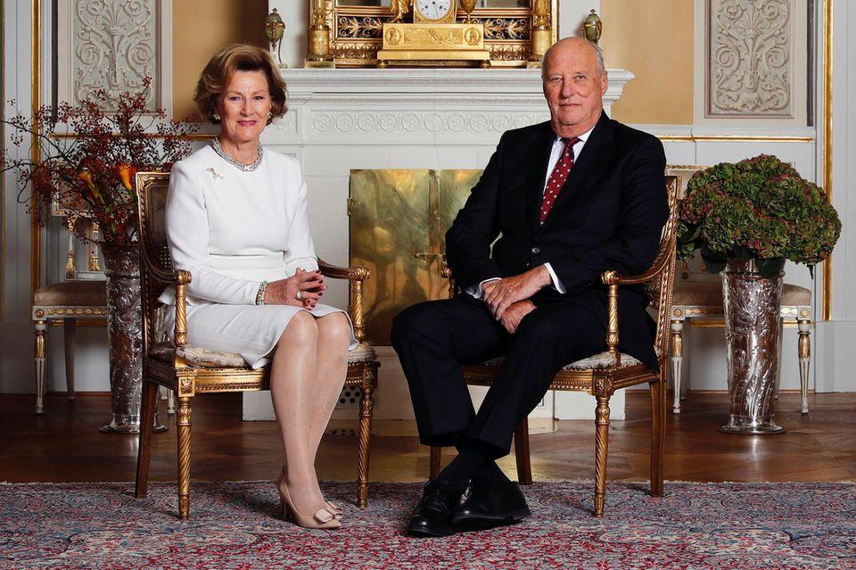 Königin Sonja und König Harald feiern 2017 beide ihren 80. Geburtstag