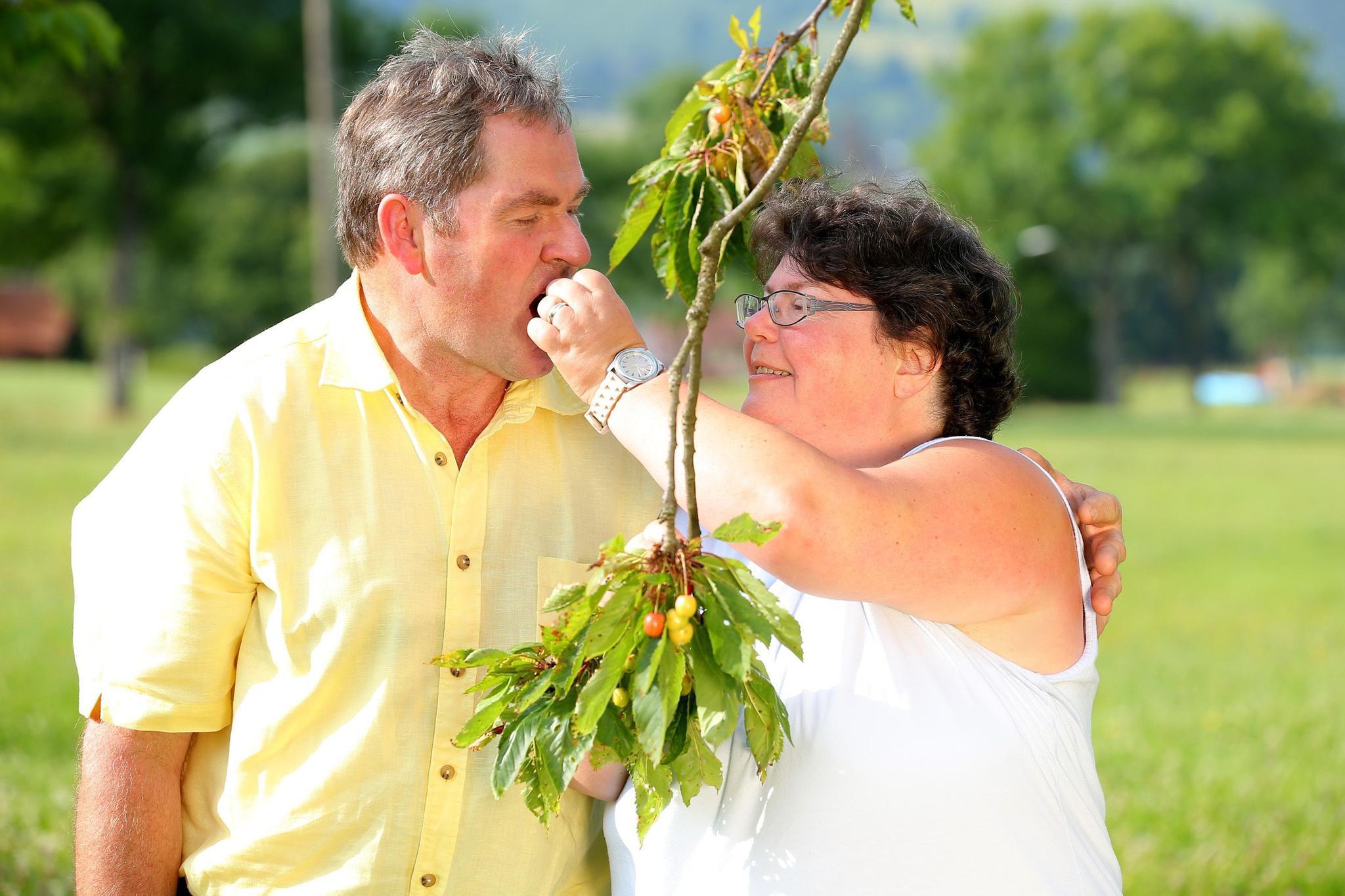 """Albert und Sabine von """"Bauer sucht Frau"""""""
