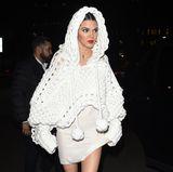 Model Kendall Jenner feiert bei der After Party von Burberry.