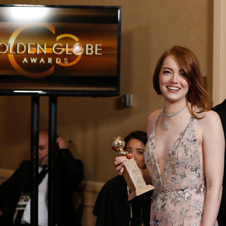 Golden Globes 2017 - Preisträgerin Emma Stone