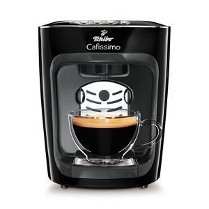 """Stark ist das neue Schwarz ...zumindest, wenn es um leckeren Kaffee geht. Die leistungsstarke und stylische Maschine passt in jede Küche und bereitet einen perfekten Start in den Tag. """"Cafissimo Mini Midnight Black"""" von Tchibo, ca. 59 Euro"""