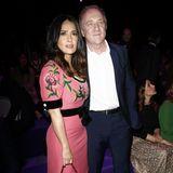 Der Einladung von Gucci sind auch Salma Hayek und ihr Mann Francois-Henri Pinault gefolgt.