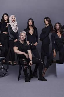 """Überraschend offen zeigt Cheryl Cole auf diesen Kampagnenbildern von L'Oreal Paris und """"The Prince's Trust"""" ihren Babybauch. Bisher hatte sie die Schwangerschaft vehement dementiert - diese Bilder sagen jedoch mehr als tausend Worte. Es ist ihr erstes Kind, der Vater des Babys ist """"One Direction""""-Star Liam Payne."""
