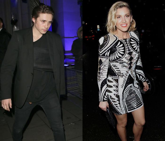 Brooklyn Beckham und Ashley Roberts verlassen die Party getrennt. Doch das muss ja nichts heißen...
