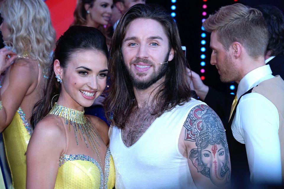 Gil Ofarim hat Tänzerin Ekaterina Leonova an seiner Seite.