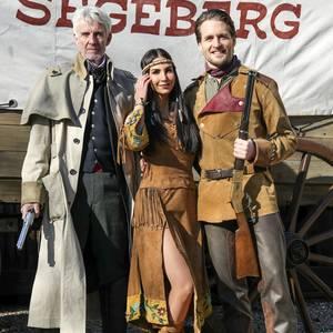 Mathieu Carrière, Sila Sahin und Alexander Klaws präsentieren sich als neue Gaststars der Karl-May-Festspiele in Bad Segeberg.