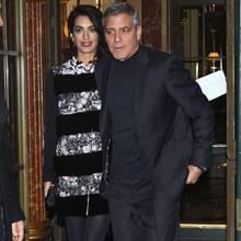 25. Februar 2017  Am Abend verlassen sie ihr Hotel in Paris. Ob die werdenden Eltern wohl zu einem romantischen Dinner aufbrechen?