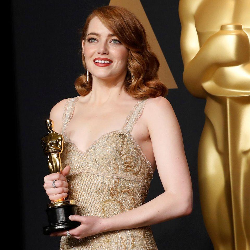 Emma Stone gewinnt den Oscar 2017 als beste Hauptdarstellerin