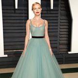 Kate Bosworth ist im türkisfarbenen Tüll-Traum DER Hingucker der Vanity-Fair-Party.