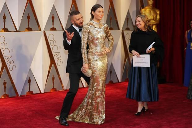 Justin Timberlake + Jessica Biel: Deshalb war er der glücklichste Mann des Oscar-Abends