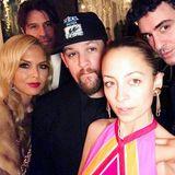 Stylisten Rachel Zoe feiert gemeinsam mit Nicole Richie und Joel Madden.