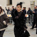 Auch Popstar Rita Ora ist für die Trauerfeier eingeflogen.