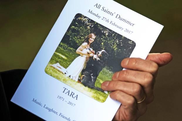 tara palmer-tomkinson (†): wo waren herzogin catherine und prinz, Einladung