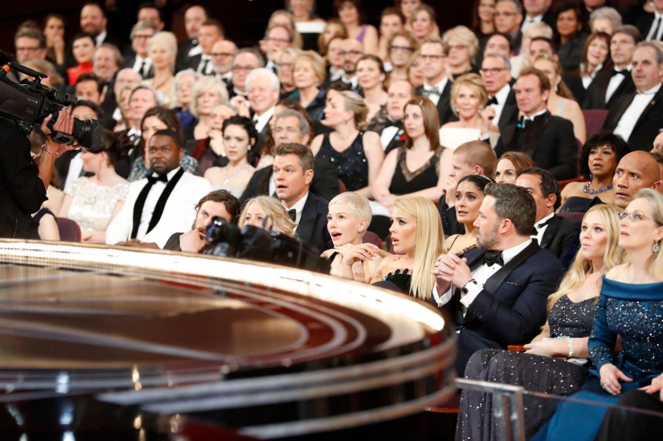 Front Row bei Oscars 2017