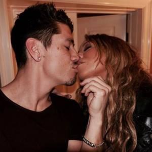 Den Tag nach der großen Party verbringt Mariah Carey in trauter Zweisamkeit mit ihrem neuen FreundBryan Tanaka.