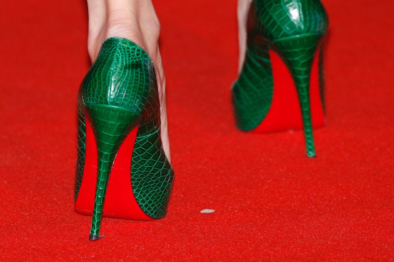High Heels auf dem Red Carpet