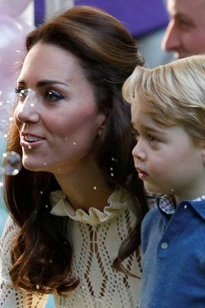 Herzogin Catherine, Prinz George