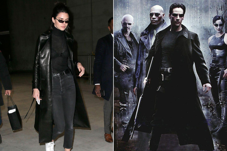 """Es ist """"The Matrix"""" ein Science-Fiction aus dem Jahr 1999 mit Keanu Reeves, der als Computerhacker Neo und """"Auserwählter"""", die Matrix bezwingen wird."""