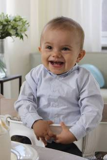 2. März 2017  Der kleine Strahlemann freut sich riesig über seine Geburtstagsfeier.