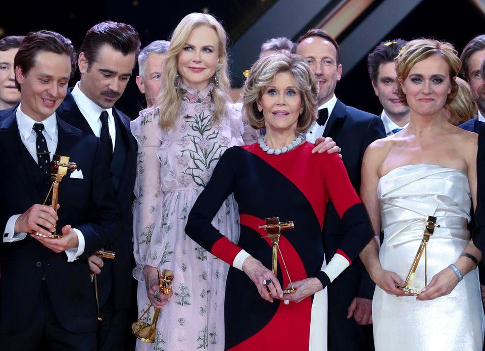 Goldene Kamera 2017: Ein Gruppenfoto der diesjährigen Preisträger.