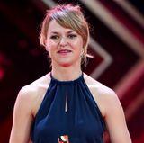 """Lisa Wagner wird in der Rubrik """"beste deutsche Schauspielerin"""" ausgezeichnet."""