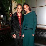 Die Brasserie-Gäste Lewis Hamilton und Topmodel Liya Kebede würden auch ein schönes Paar abgegeben.