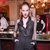 Jungschauspielerin mit Sexappeal: Barbara Palvin in der Brasserie L'Oréal Paris