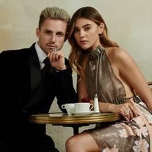 Perfekter Pariser Flair auch bei Stefanie Giesinger und ihrem Freund Marcus Butler