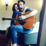 5. März 2017  Vater-Tochter-Zeit: Der größte Fan von Jamie Mazur ist Anja. Sie bekommt auch eine private Gitarreneinlage und kann ihr Glück gar nicht fassen.
