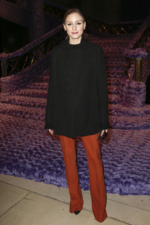 Miu Miu hat die schönsten Frauen der Welt nach Paris gelockt. So auch die Stil-Ikone Olivia Palermo.