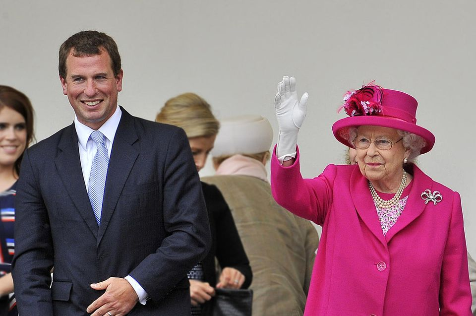 Queen-Enkel Peter Phillips: Aus Omas Geburtstag hat er ein