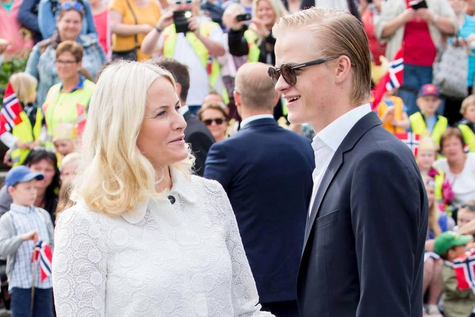 Prinzessin Mette-Marit, Marius BorgHøiby