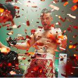 """8. März 2017  So kündigt ein Robbie Williams seine """"The Heavy Entertainment Show"""" an, die schon in 12 Wochen, im Juni 2017, beginnt."""