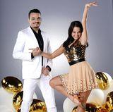 Giovanni Zarrella springt für den verletzten Pietro ein und tanzt gemeinsam mit Christina Luft.